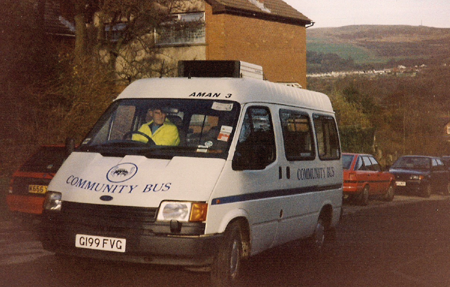 One of ACT's old Community Buses